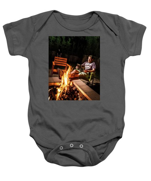 Fear By Fire Baby Onesie
