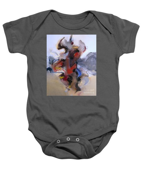 Fear Of Holding On Baby Onesie