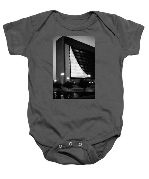 Federal Reserve Building At Twilight Baby Onesie