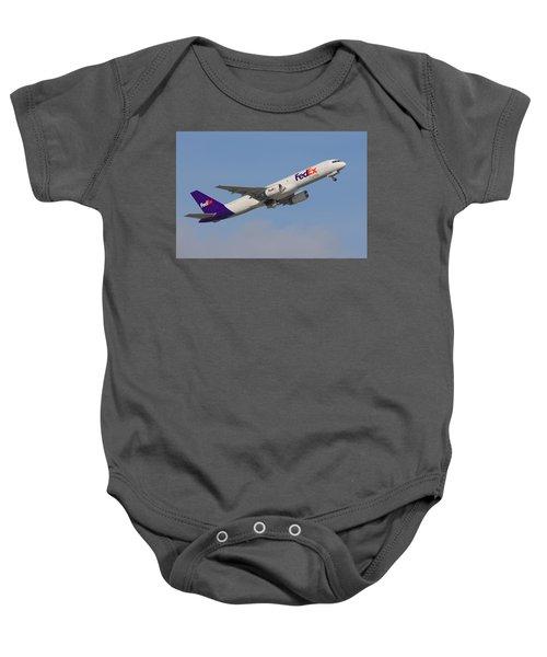 Fedex Jet Baby Onesie