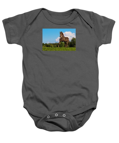 Feed Me Apples Baby Onesie