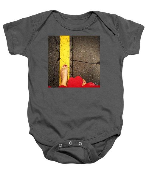 Feet Around The World #27 Baby Onesie