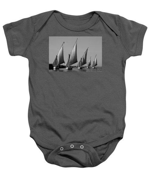 Feluccas On River Nile Baby Onesie