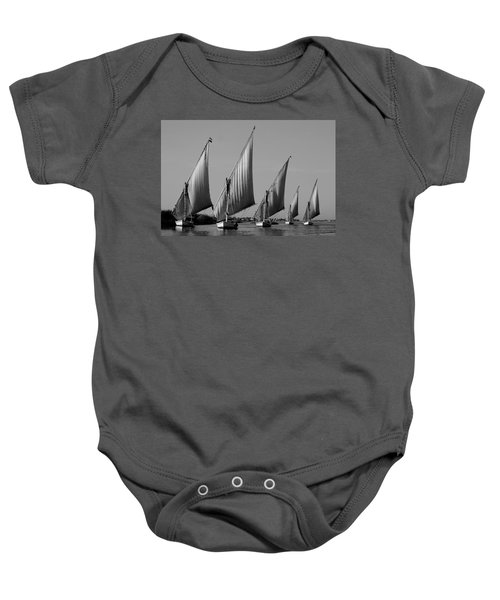 Feluccas On River Nile Baby Onesie