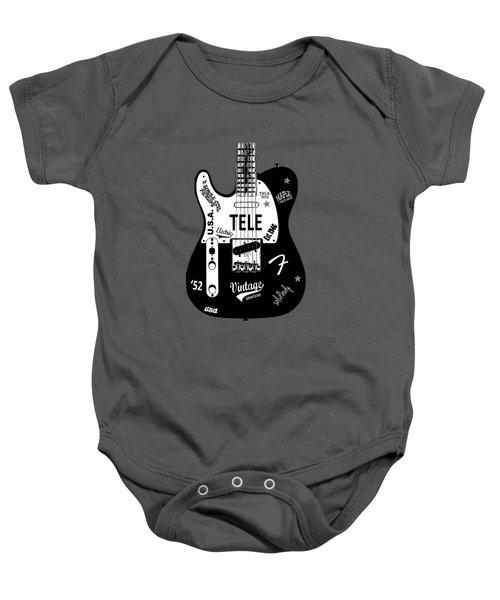 Fender Telecaster 52 Baby Onesie
