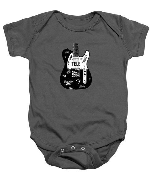Fender Telecaster 58 Baby Onesie