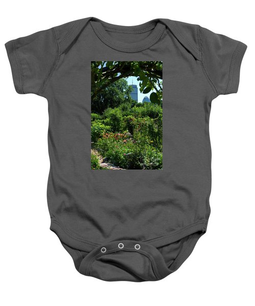 Fenway Victory Gardens In Boston Massachusetts  -30951-30952 Baby Onesie