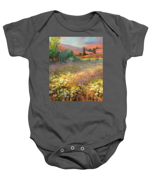 Field Of Dreams Baby Onesie