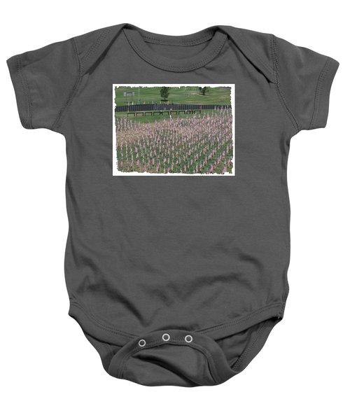 Field Of Flags - Gotg Arial Baby Onesie