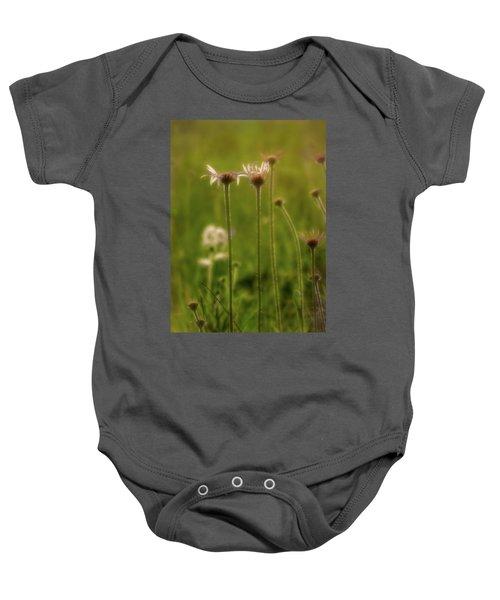 Field Of Flowers 3 Baby Onesie