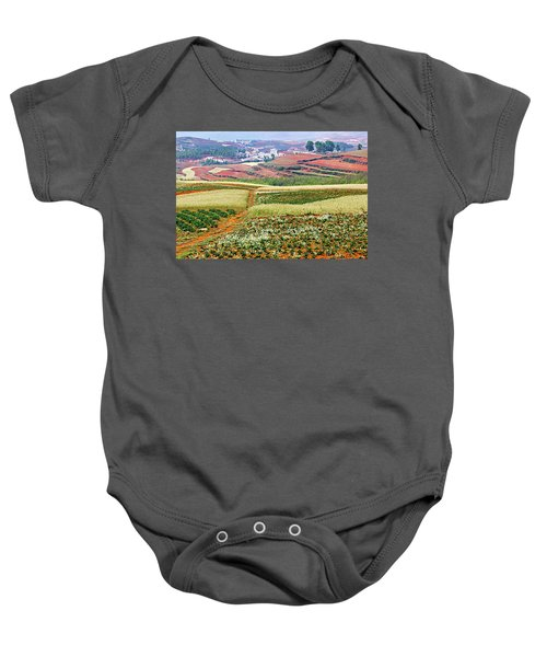 Fields Of The Redlands-1 Baby Onesie