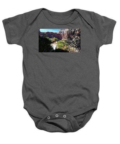 Fifty Falls And Havasupai Falls Havasupai Indian Reservation Baby Onesie