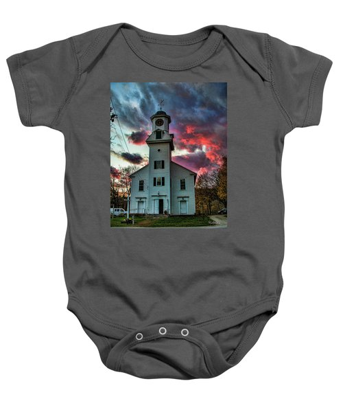 Fire And Brimstone Baby Onesie