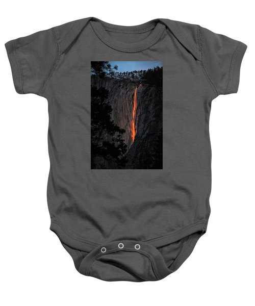 Fire Fall Baby Onesie