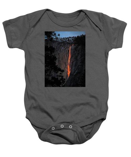 Fire Fall Baby Onesie