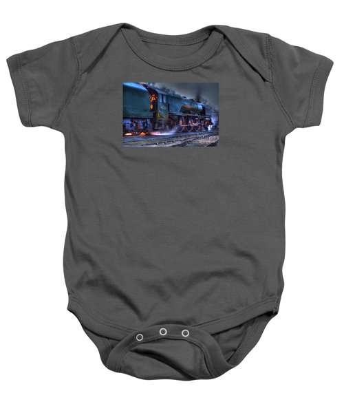 Fire In Her Belly Baby Onesie