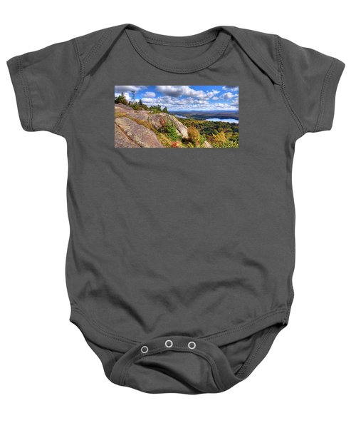 Fire Tower On Bald Mountain Baby Onesie