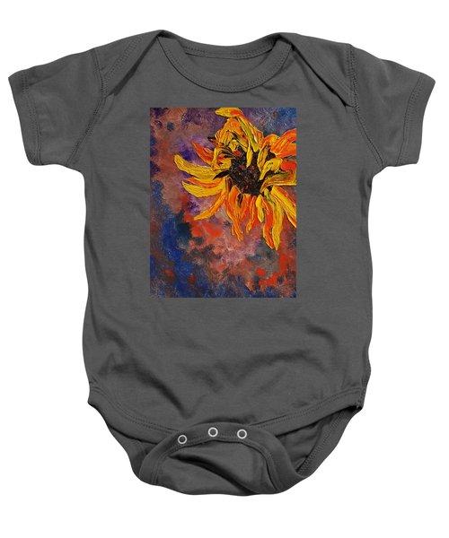 Firespace Flower  27 Baby Onesie