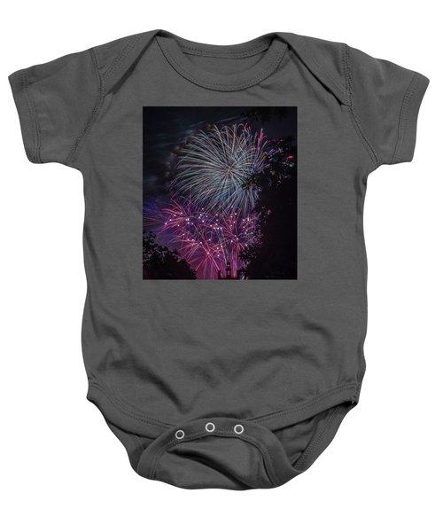 Fireworks 4 Baby Onesie