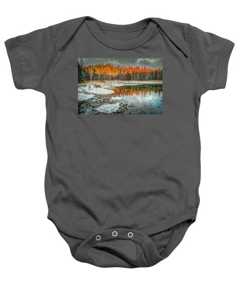 First Light At 3 Springs Baby Onesie