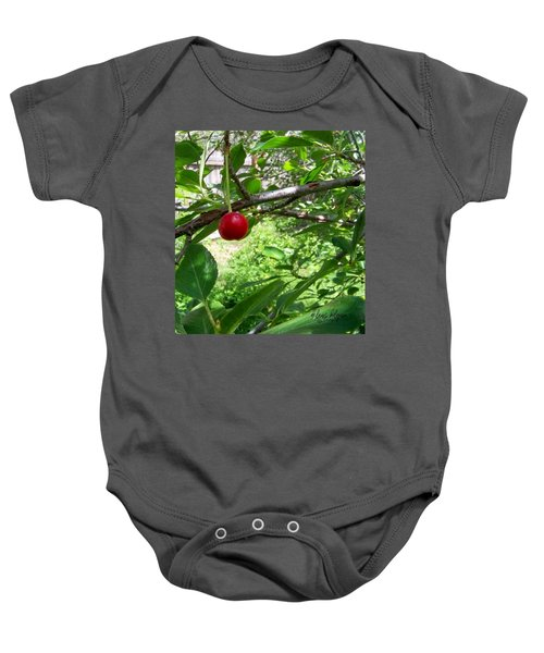First Of The Season Baby Onesie