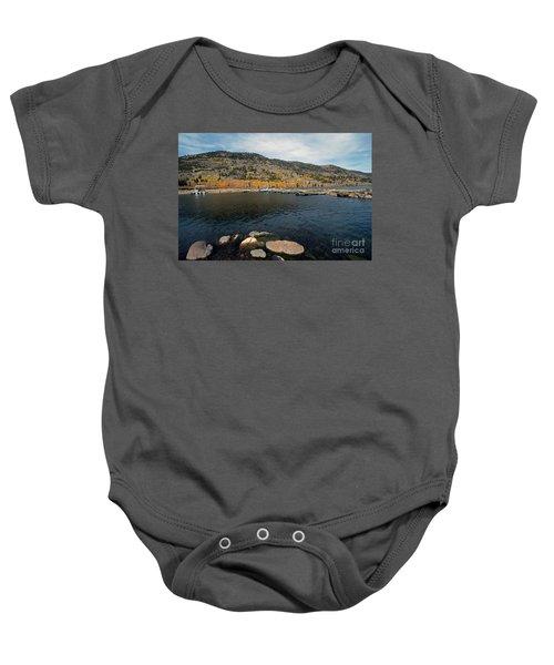 Fish Lake Ut Baby Onesie