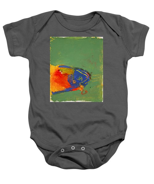 Fish Pondering The Anomaly Of Mans Anamnesis Baby Onesie