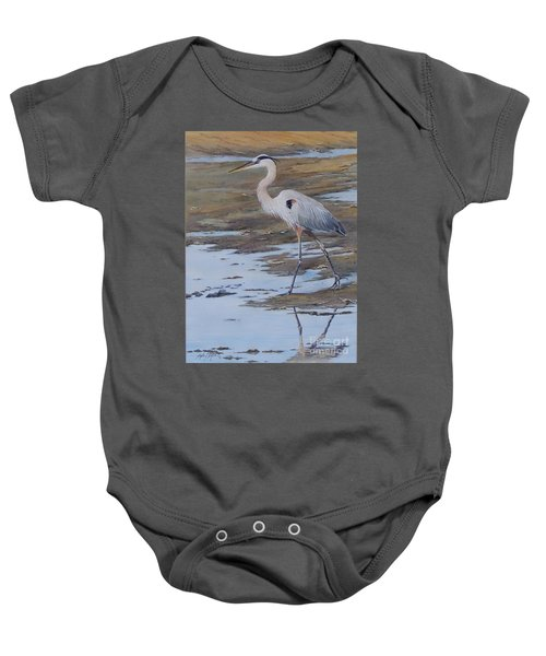 Fishing The Mud Flats...sold  Baby Onesie