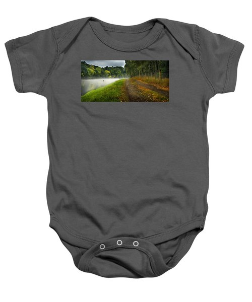 Fishing The River Beauly Baby Onesie