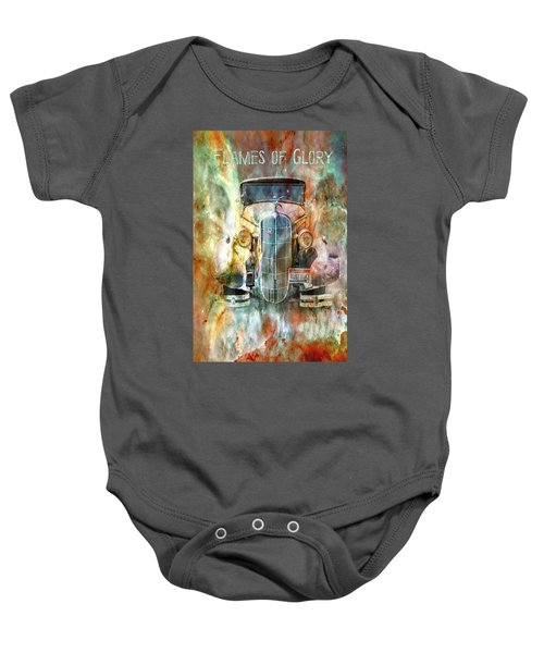 Flames Of Glory Baby Onesie