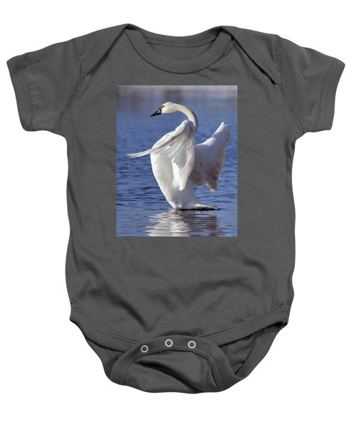 Flapping Swan Baby Onesie