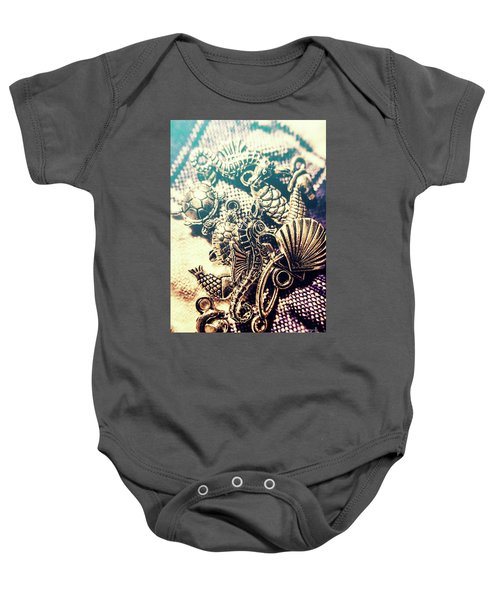 Flares Of Nautical Beauty Baby Onesie