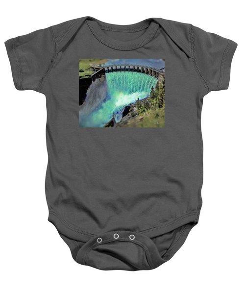 Flathead Lake Kerr Dam Baby Onesie
