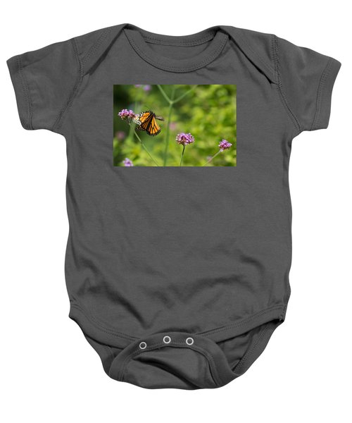 Flight Of The Monarch 2 Baby Onesie