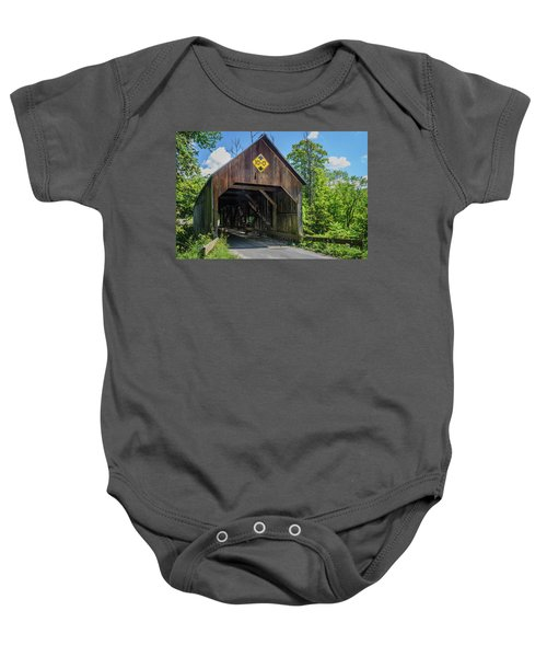 Flint Bridge Baby Onesie