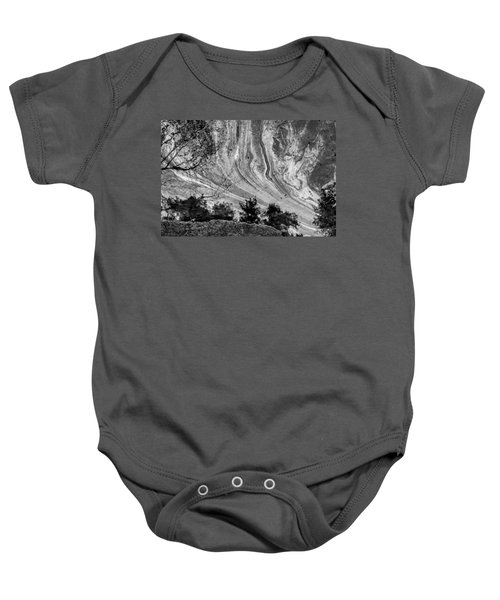 Floating Oil Spill On Water Baby Onesie