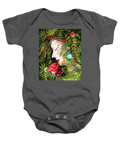 Flora-da-vita Baby Onesie
