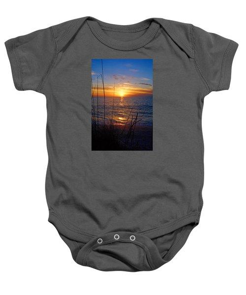 Florida Gulf Coast Sunset Baby Onesie