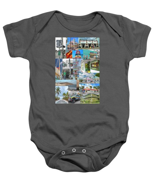 Florida Key West Collection Baby Onesie