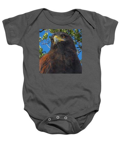 Florida Keys Golden Eagle Baby Onesie