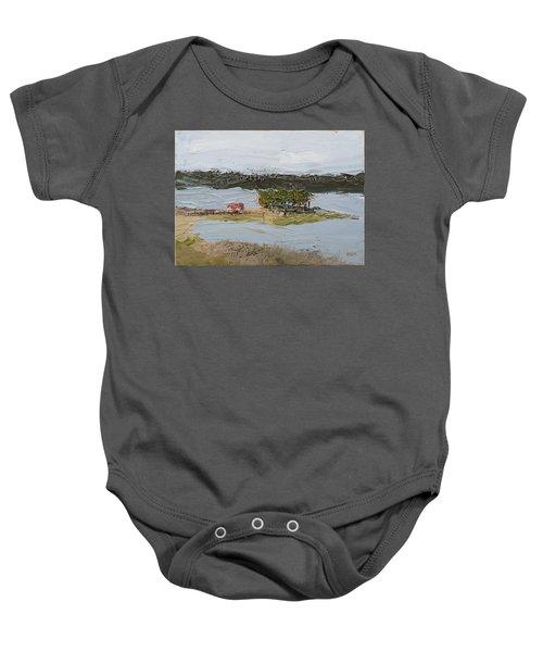 Florida Lake II Baby Onesie