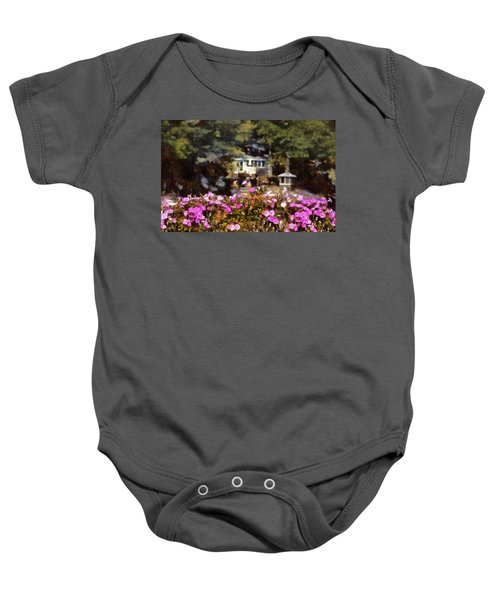 Flower Box Baby Onesie