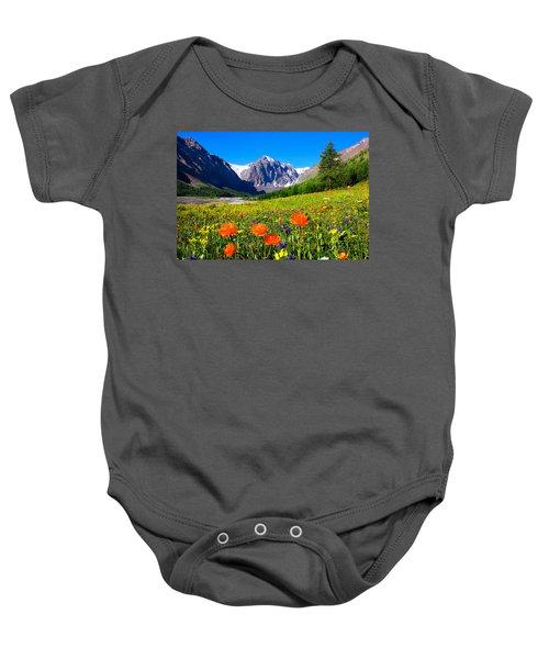 Flowering Valley. Mountain Karatash Baby Onesie