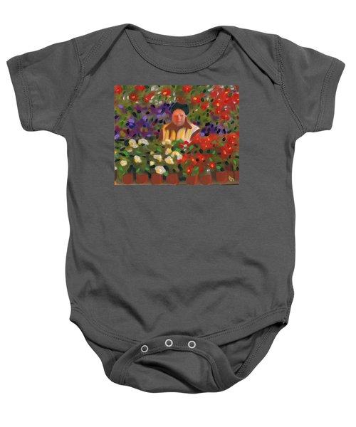 Flowers For Sale Baby Onesie