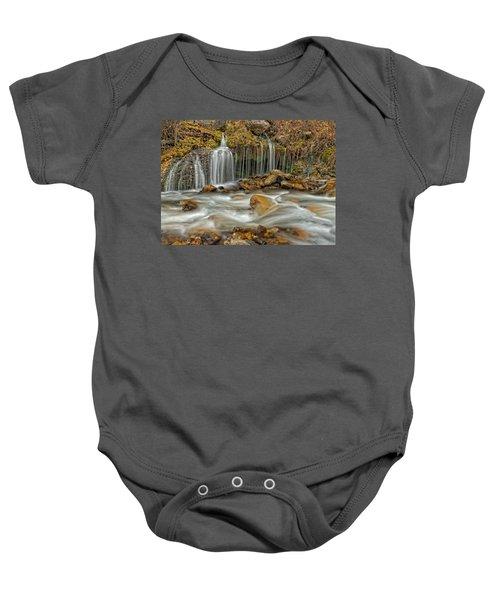 Flowing Water Baby Onesie