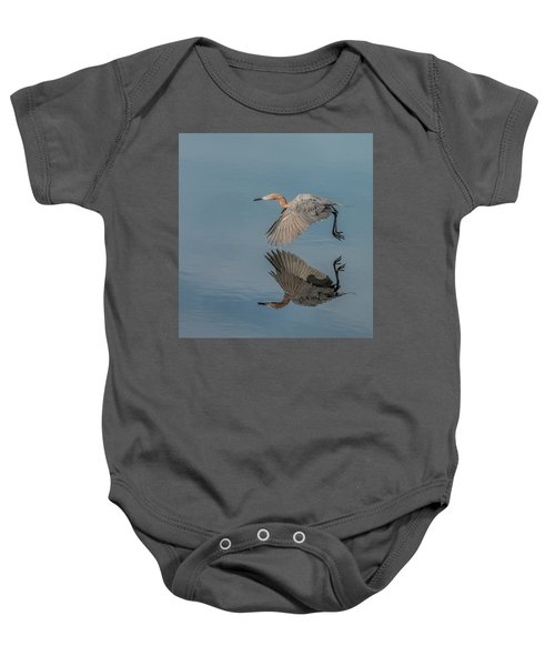 Fly By Reflection Baby Onesie
