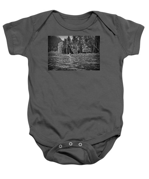 Fly On The Swing Baby Onesie