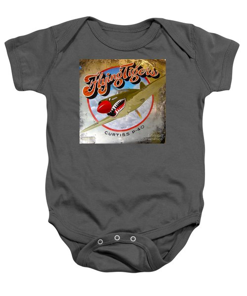 Flying Tigers Baby Onesie