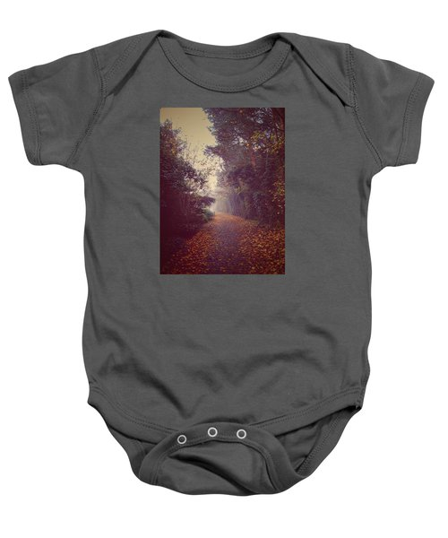 Baby Onesie featuring the photograph Foggy by Pedro Fernandez