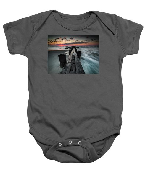 Folly Beach Tale Of Two Sides Baby Onesie